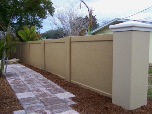 Fencing from Precast Concrete Fence Walls for Fencing in Mississippi from Florida by Permacast from Sarasota, Florida
